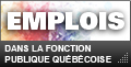 Jobs in the public service of Quebec